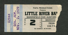 1979 Little River Band concert ticket stub Bakersfield First Under The Wire