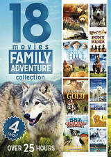 Family Adventure Collection: 18 Movies (DVD, 2014, 4-Disc Set) FREE SHIPPING