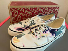 Vans Authentic Vintage Floral Marshmallow Shoes Size 6.5 Men's 8.0 Women's NIB