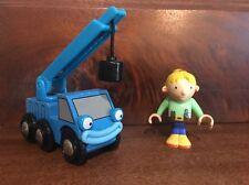 Brio Bob the Builder Wooden Railway Train Lofty & Wendy Set Lot 2001 RARE #32803