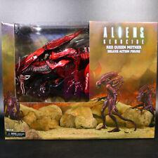 """Red Alien Queen Xenomorph Genocide 15"""" Action Figure Ultra Deluxe Aliens"""