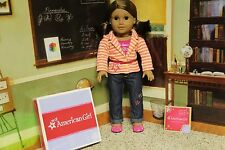 """American Girl """"Bright Stripes Outfit"""" - COMPLETE - NIB"""