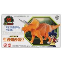 Dino Mecard Triceratops Tricera Double Action Figure Animation Toy MJ