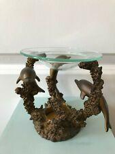 Partylite Light Dolphin Aroma Melts P9754 Bronze Color Reef Decor - Unique