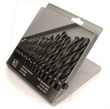 19 Piezas Hss Drill Set 1 mm A 10mm en almacenamiento Funda ToolZone dr085