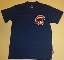Majestic Chicago Cubs Jersey Style Blue T-Shirt MLB (Men's  Medium)