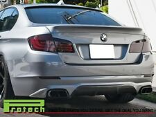 AC Style Painted Trunk Spoiler + Roof Lip For 11-14 BMW F10 528i 535i 550i M5