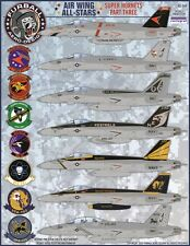 "Furball aero-design 1/48 ""AIR WING All-Stars"" SUPER HORNETS parte III # 48049"