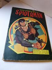 bandes dessinées insolites, spiderman  , N°10 ,1969(car15)