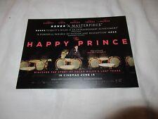 THE HAPPY PRINCE MOVIE FILM POSTCARDS X 2 RUPERT EVERETT COLIN FIRTH OSCAR WILDE