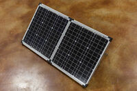 Zamp ZS-80-P Monocrystalline 80 Watt Portable Solar Panel with Charge Controller