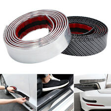 Carbon fiber car moulding trim protector universal bumper strip Waterproof