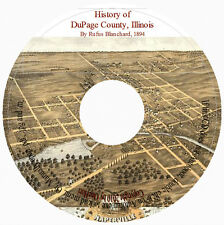 DuPage County, IL History 1894 - Genealogy CD
