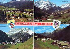 AK Kleinwalsertal - Riezlern, Hirschegg, Mittelberg, Baad - 4 Bilder, gelaufen