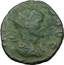 Claudius II Gothicus 268AD Ancient Roman Coin Nude Zeus w thunderbolt  i35041