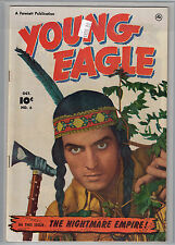 Young Eagle #6 (Oct 1951, Fawcett)