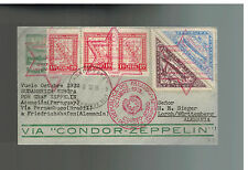 1932 Paraguay Graf Zeppelin Cover to Herman Sieger Germany  LZ 127