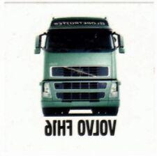 4 (VIER) x VOLVO FH16 GLOBETROTTER TRUCK TATTOO  5x5 cm Original NEW LKW Camion