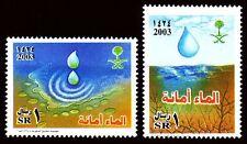 Saudi Arabia 2003 ** Mi.1395/96 Umwelt Environment | Water Conservation
