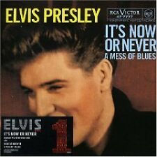 ELVIS PRESLEY It's Now or Never w/ RARE TRX LIMITED #31990 CD Single SEALED