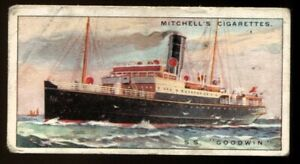 Tobacco Card, Mitchell, RIVER COASTAL STEAMERS, 1925, SS Goodwin, #19