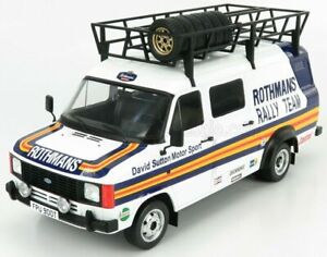 IXO 1/18 FORD TRANSIT MK2 MKII ROTHMANS RALLY TEAM ASSISTANCE/SUPPORT VAN 1979