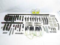 Minitrix N MEGA SET Gleise, elektrische Weichen, Leuchten usw.. über 150 Teile !