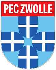 "Pec Zwolle Fc Netherlands Football Soccer Car Bumper Sticker Decal 4""X5"""