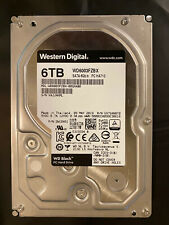 WD Black 6TB Performance Desktop HDD - 256MB Cache 3.5'' WD6003FZBX