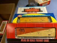 HO Scale Boxcar Caboose Lot Walther's Athearn Atlas