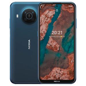 Nokia X20 5G (Nordic Blue) 128GB + 8GB RAM  Android Smartphone GSM Unlocked