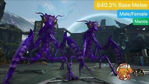 ark pc pve mantis Level 377 Mantis, 640% Base Melee Male/Female