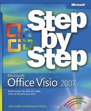 MICROSOFT OFFICE VISIO 2007-STEP BY STEP-BOOK+CD-BY LEMKE & ONLINE RESOURCES