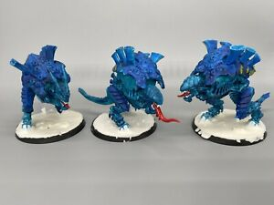 Tyranid Carnifex brood Of 3, Magnetized Warhammer 40k