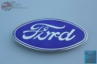 28-30 Ford Model A Hot Rat Street Rod Blue Oval Radiator Shell Emblem New