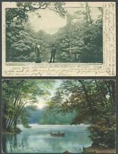 Berlin 2 gebrauchte Karten Am neuen See im Tiergarten! 7.203, 13.8.08?!
