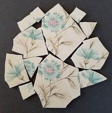 Vintage Retro Bachelor Buttons Mosaic Tiles