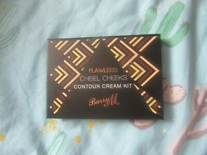 Barry M Flawless Chisel Cheeks Contour cream kit palette 6 pan brand new sealed
