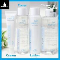 SCINIC The Simple Mild Care pH5.5 Weakly Acidic Toner Lotion Cream Cleansing H2O