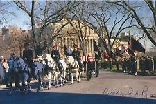 Richard Pace Signed 4x6 Photo JFK Funeral Dealey Plaza President Kennedy Vietnam
