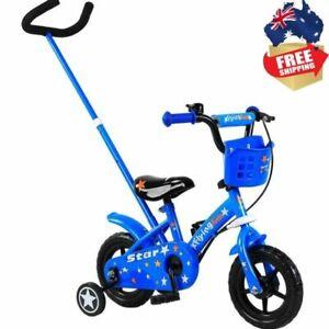 Flying Kid 10 Inch Bike 25cm - Blue Boys Kids Bicycle , handle safe steering