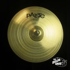 "Paiste 18"" Prototype Signature Crash (video demo)"