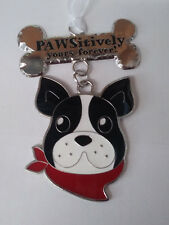 "Ganz Dog Border Collie ""Pawsitively Yours Forever"" Ornament"