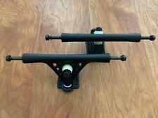 2 New Navigator Drone Skateboard Trucks Matte Black 50° Degrees 180mm