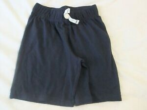NWT Boys Size 4 or 7 Blue Basic Shorts Elastic Waist Sports Jumping Beans