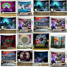 Psychedelic Jellyfish Angel Art Tapestry Hippie Wall Hanging Blanket Home Decor