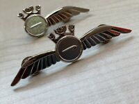 2X British Airways Pilot + Crew (Half + Full Wings) Badge  UK Stock  Aviadirect®