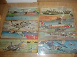 L144 Job Lot No.5 of Eagle Cutaways - Various Subjects *Take a Look*