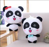 Hot Baby Bus Cute Panda Plush Toy Soft Stuffed Animal Dolls for Kids Xmas Gift