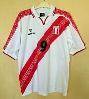 PERU NATIONAL 19992000 HOME FOOTBALL JERSEY CAMISETA SOCCER  SHIRT VINTAGE #9